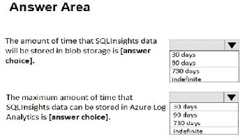az-301 q1 answer area